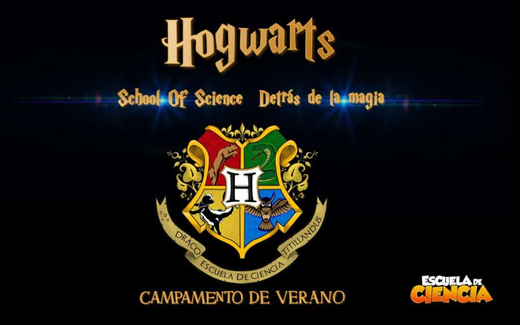 HOGWARTS School of Science en Escuela de Ciencia