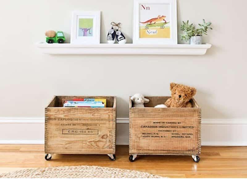 Ideas fáciles para organizar los juguetes