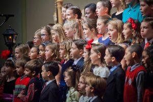 coro de niños y niñas