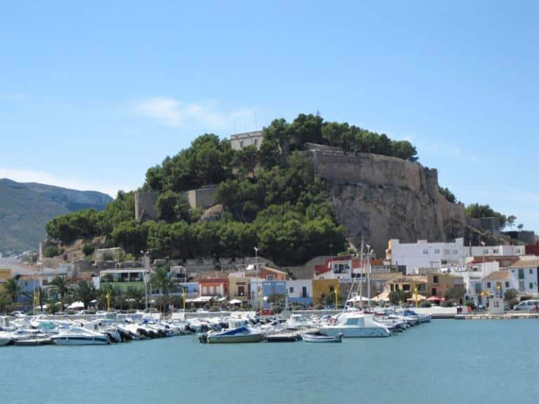 Foto de castillo de denia Valenica