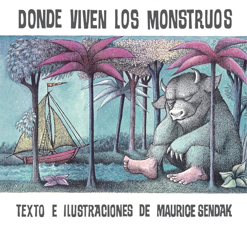 libro donde viven los monstruos de maurice sendak