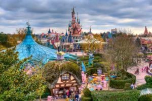 vista de disneyland paris