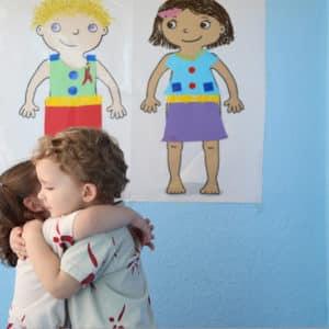 Niños en escuela bilingüe - Julio Verne School