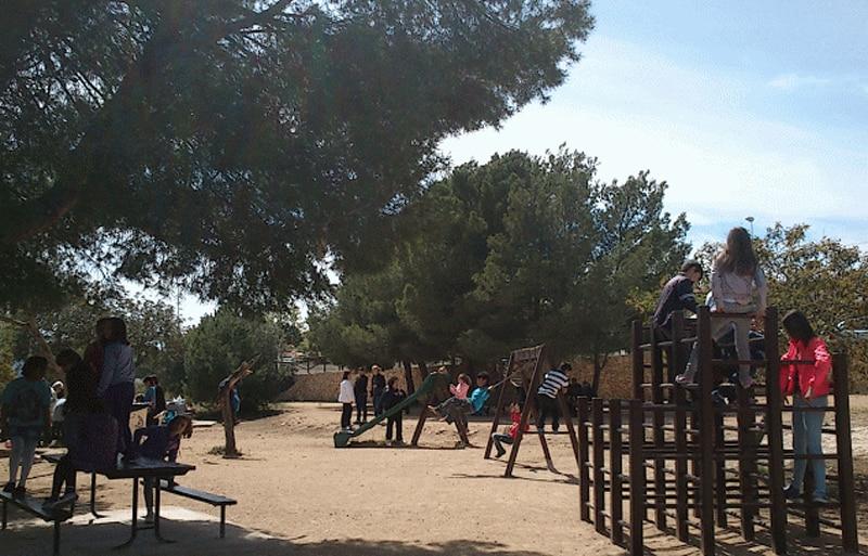El parque de la Vallesa en Calpe