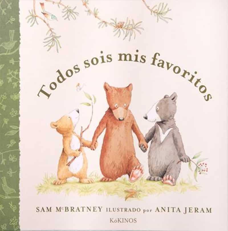 libro Todos sois mis favoritos de Sam McBratney