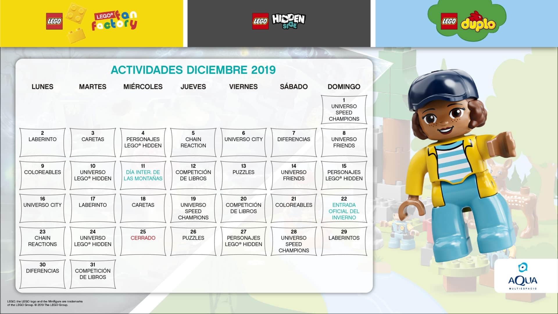Lego diciembre