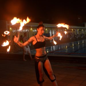 Aquaval fuego piscina
