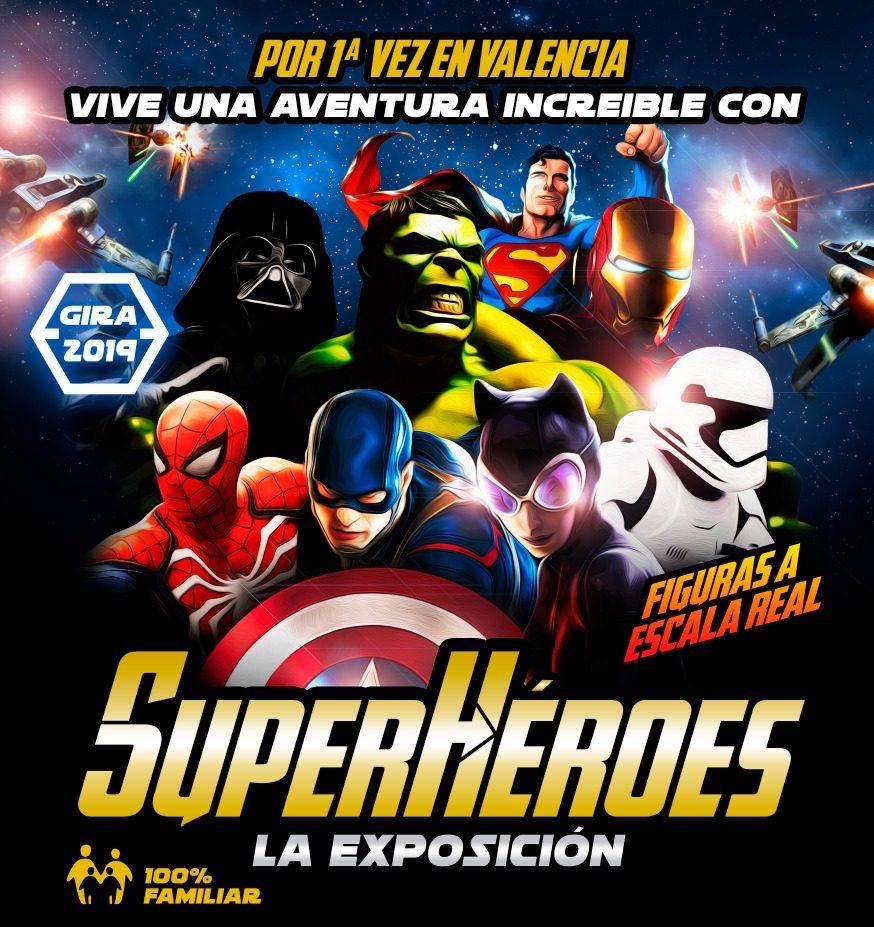 Superheroes La Exposición