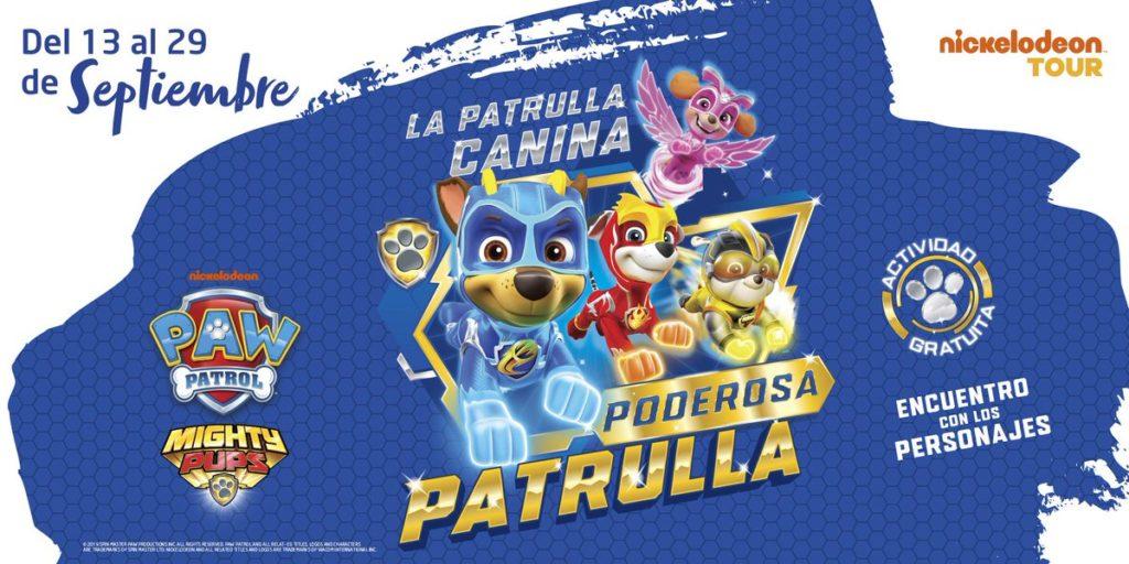 'La Patrulla Canina: Poderosa Patrulla' llega a Islazul con muchas aventuras y diversión