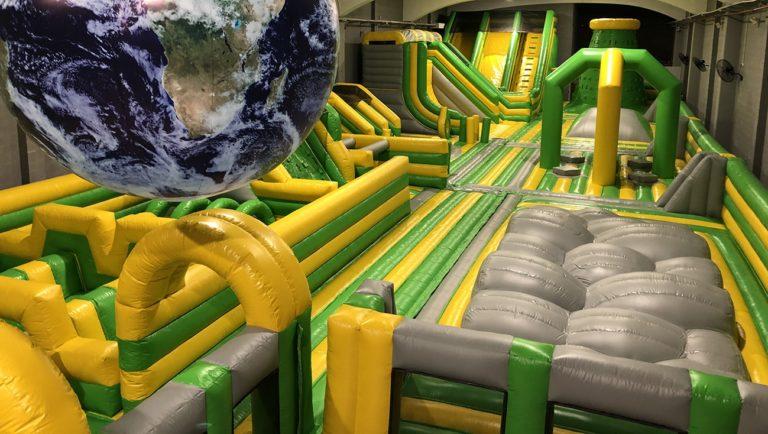 Castillo hinchable gigante Fun park