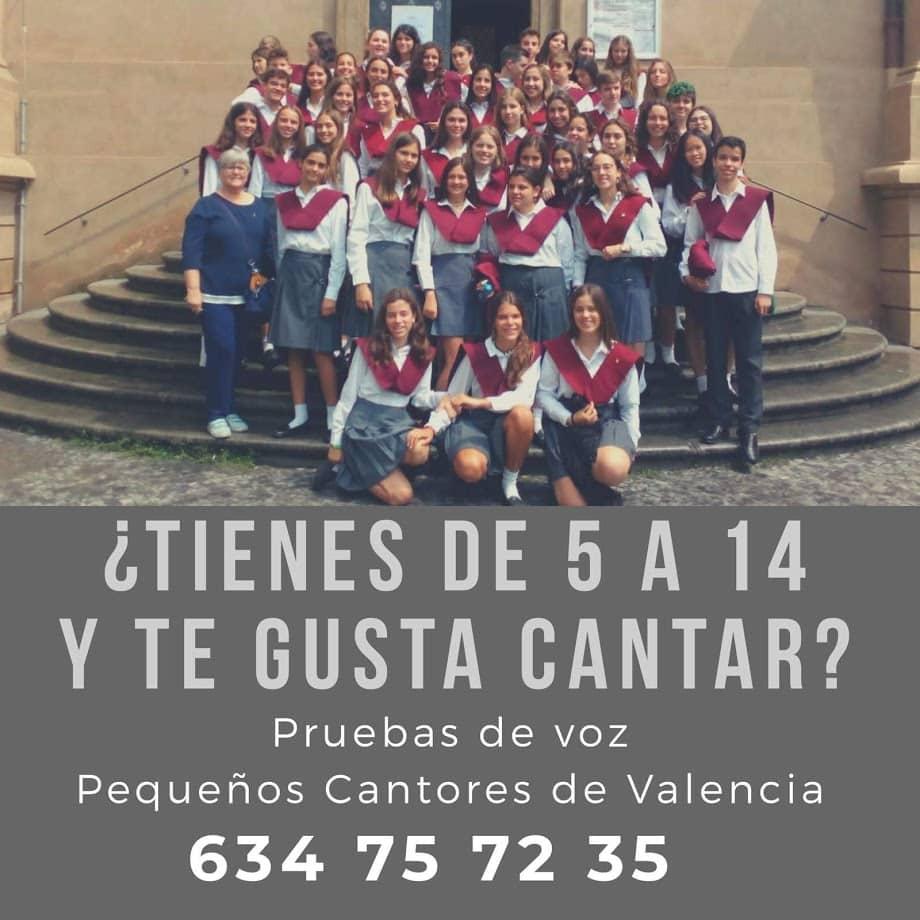 ¡Pequeños Cantores de Valencia busca nuevas voces!