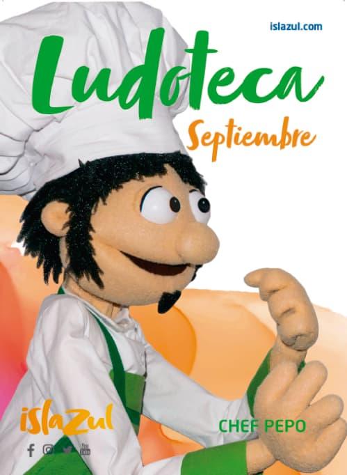 Prepara tu vuelta al colegio en los talleres de la Ludoteca Chef Pepo
