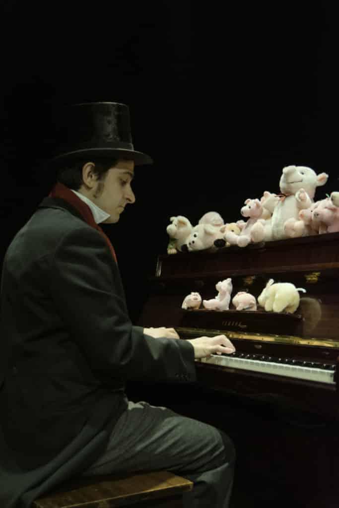 Ludwig y el duro perdido en La Máquina