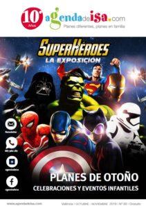 EXposisción SuperHéroes Portada Revista 60