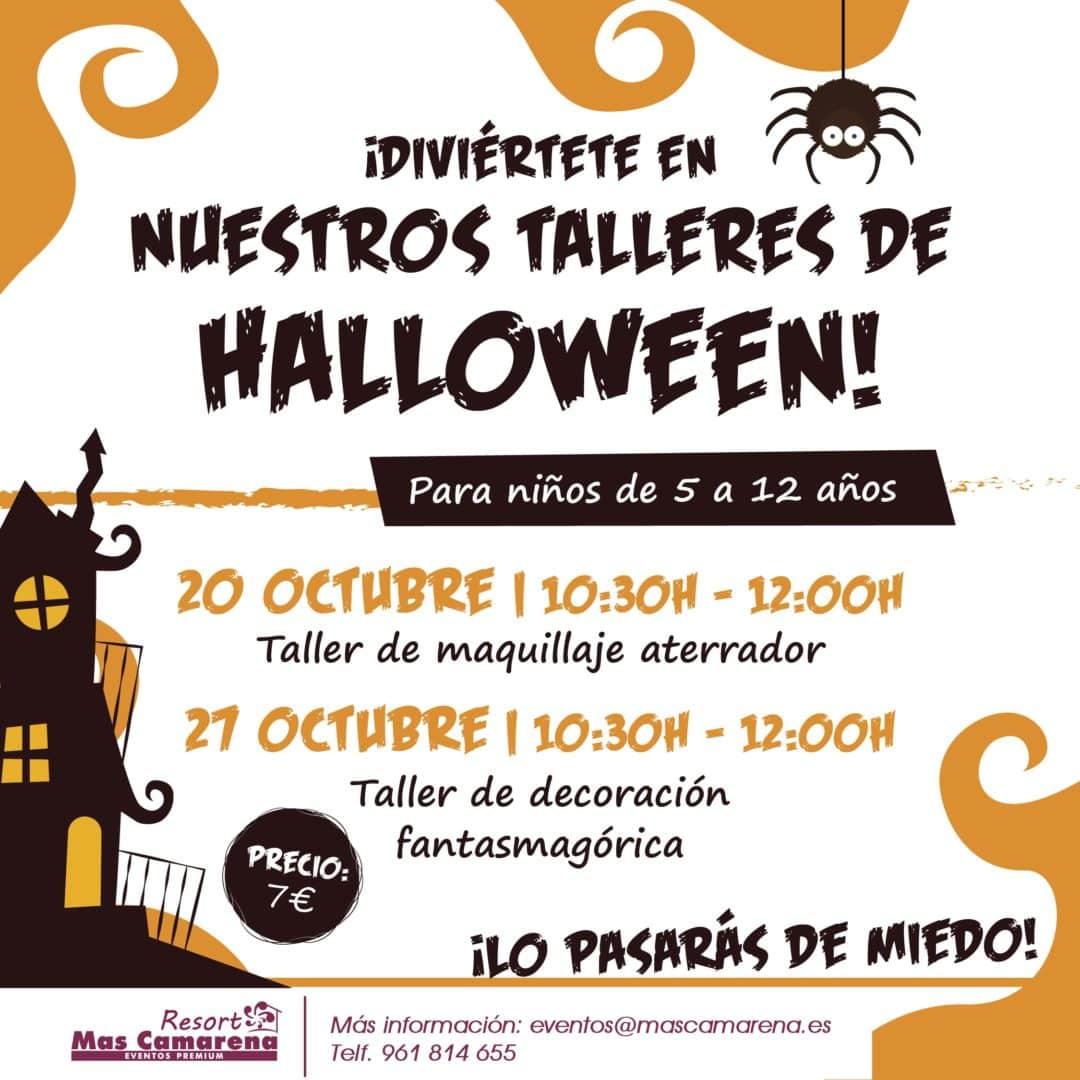 Talleres Halloween Resort Mas Camarena