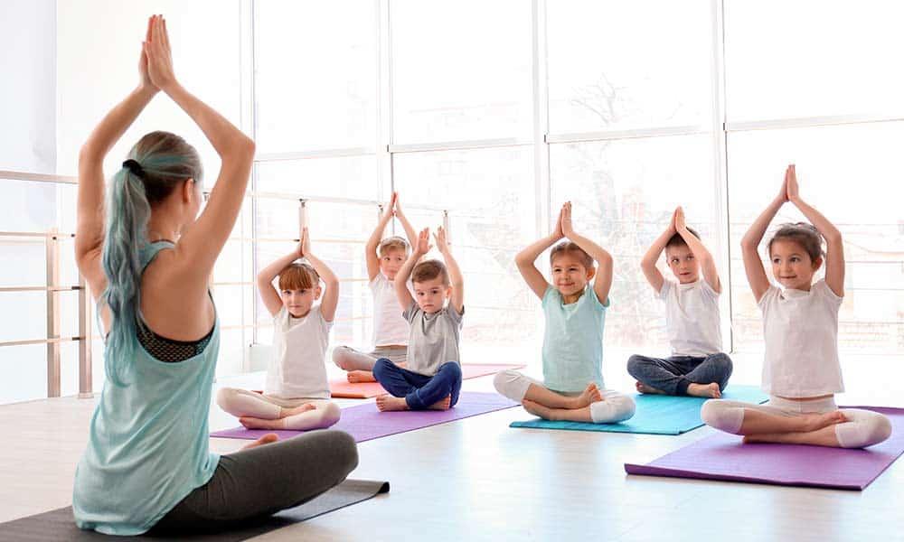 Yoga para niños en Valencia y sus beneficios