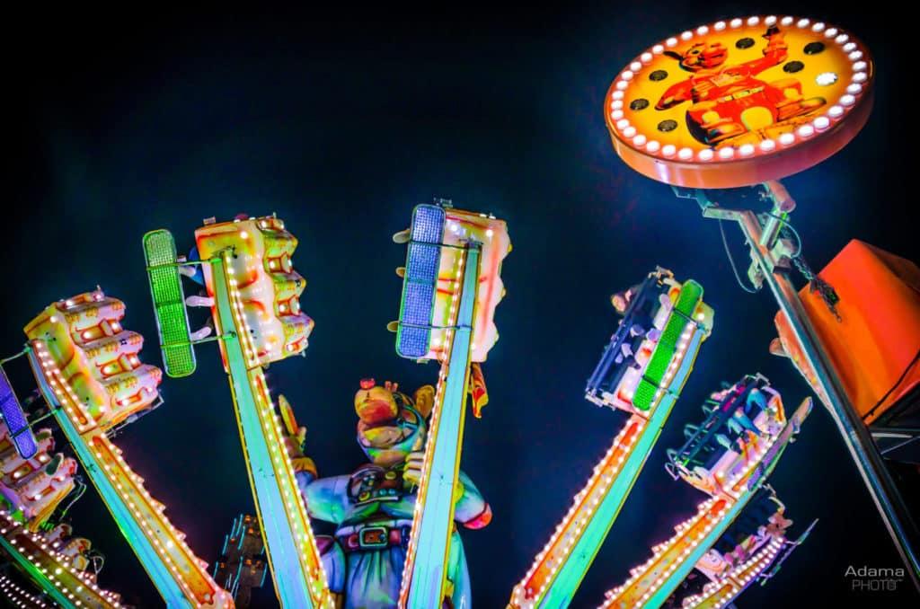 Feria atracciones valencia