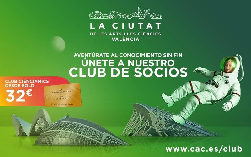 Club socios ciudad de las artes y las ciencias