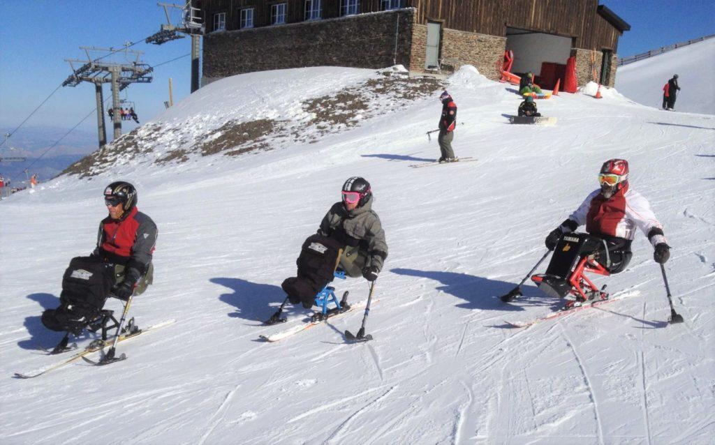 Esquí adaptado con la Fundación Deporte y Desafío
