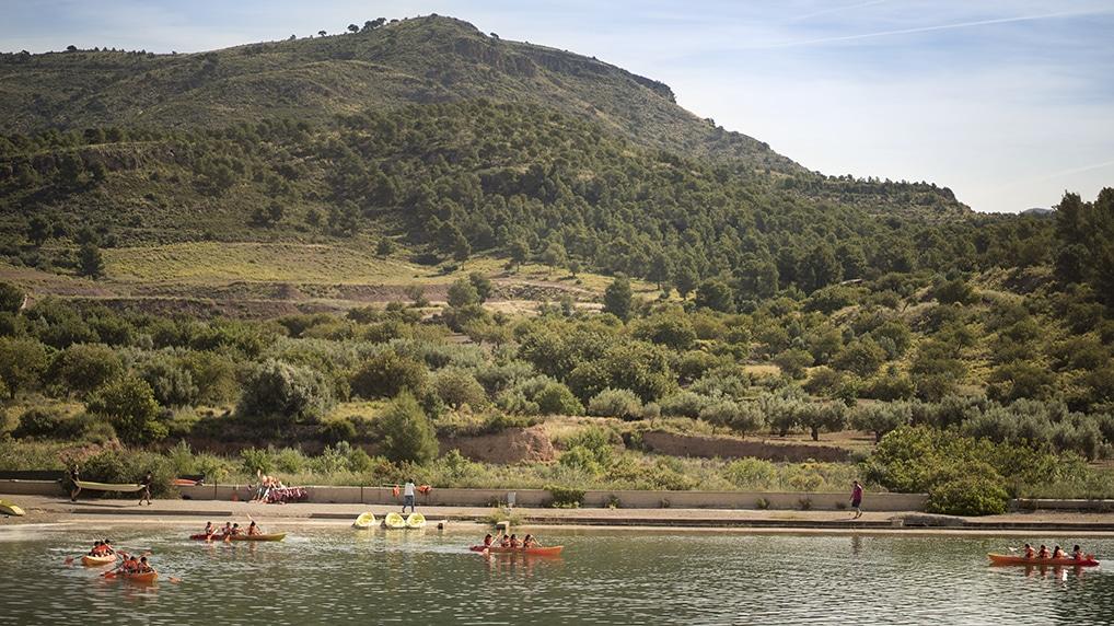 Campamentos en Albergue Olocau