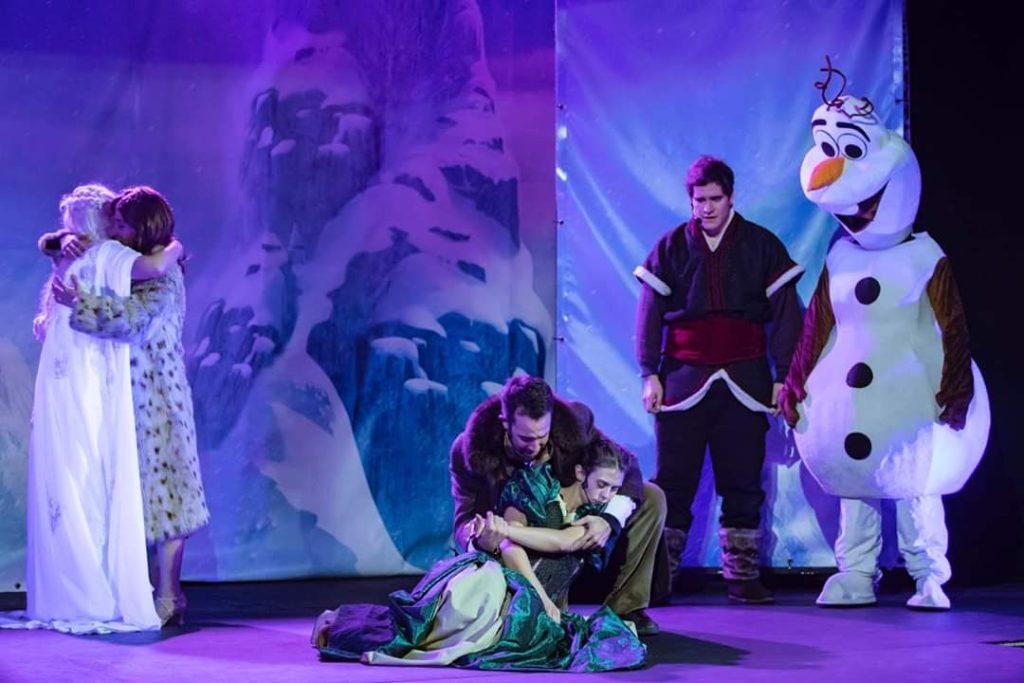 """El Origen del Hielo """"Tributo a Frozen"""""""