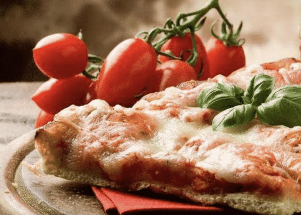 pizza casera con niños - masa pizza pan de molde