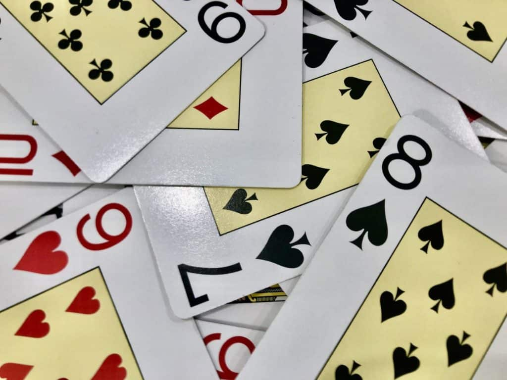 Juego carta para niños