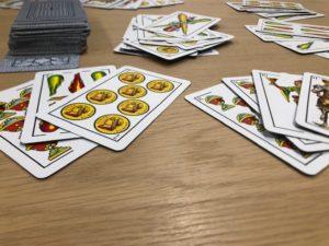 Juego cartas continental