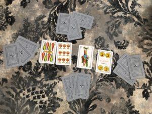 Juego cartas Escoba