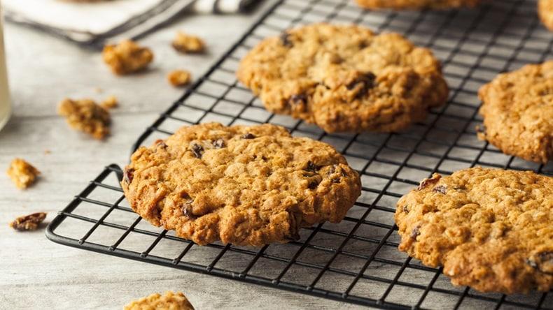 receta de galletas para niños - galletas de avena