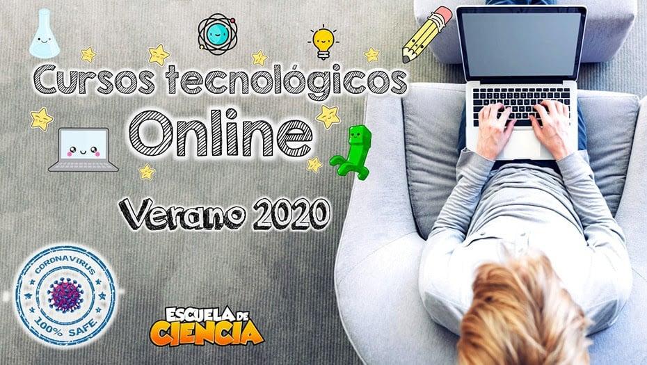 Cursos Tecnológicos Online en Verano