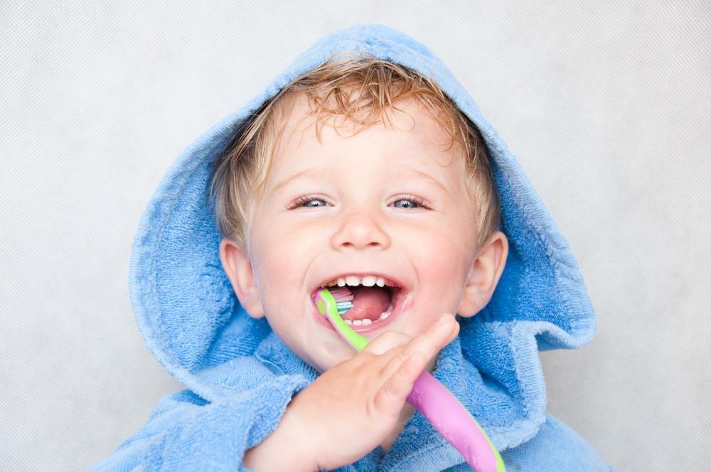 Cepillo de dientes para niños por edades
